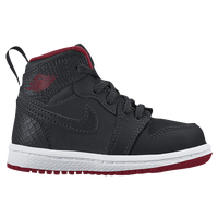 Jordan AJ 1 High - Boys' Toddler - Black / White