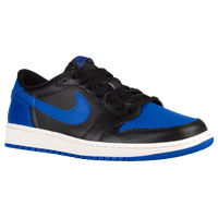 Jordan Retro 1 Low OG - Men's - Black / Blue