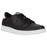 Jordan Retro 1 Low OG - Men's - Black / White