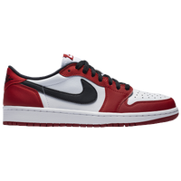 Jordan Retro 1 Low OG - Men's - White / Red