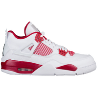 Jordan Retro 4 - Men's - White / Red