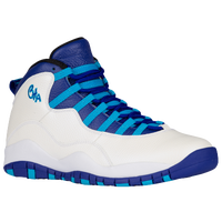 Jordan Retro 10 - Men's - White / Blue