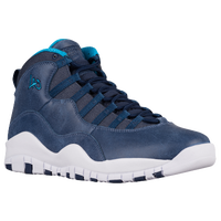 Jordan Retro 10 - Men's - Navy / Light Blue