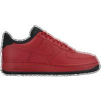 Nike Air Force 1 Low - Men's - Red / Black