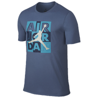 Jordan Retro 10 Tag T-Shirt - Men's - Blue / Light Blue