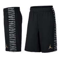 Jordan Retro 10 Fleece Shorts - Men's - Black / Grey
