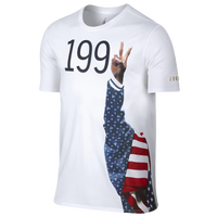 Jordan Retro 7 Pure Gold T-Shirt - Men's - USA - White / Navy