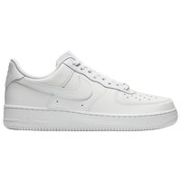 all white air force ones low top