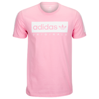 adidas Originals Graphic T-Shirt - Men's - Pink / White