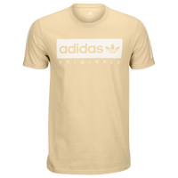 adidas Originals Graphic T-Shirt - Men's - Gold / White