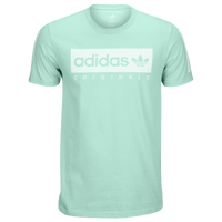 adidas Originals Graphic T-Shirt - Men's - Light Green / White