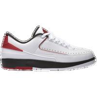 Jordan Retro 2 Low - Men\u0026#39;s - White / Red