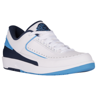 Jordan Retro 2 Low - Men's - White / Light Blue