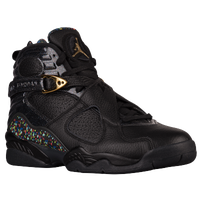 Jordan Retro 8 - Men's - Black / Gold