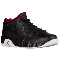 Jordan Retro 9 Low - Men's - Black / Red