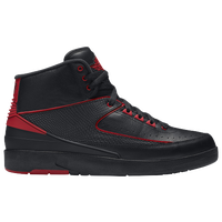 Jordan Retro 2 - Men's - Black / Red