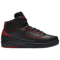 Jordan Retro 2 - Boys' Grade School - Black / Red