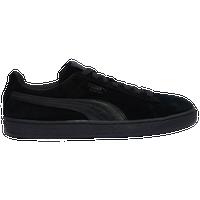 puma suede white men shoes