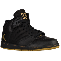 Jordan 1 Flight 4 - Men's - Black / Gold