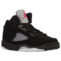 Jordan Retro 5 - Boys' Preschool - Black / Red