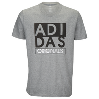 adidas Originals Graphic T-Shirt - Men's - Grey / Black