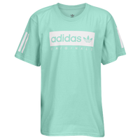 adidas Originals NMD Multi Short Sleeve T-Shirt - Boys' Grade School - Light Green / White