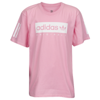 adidas Originals NMD Multi Short Sleeve T-Shirt - Boys' Grade School - Pink / White