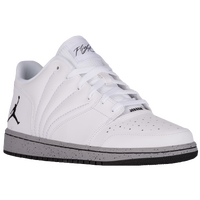 Jordan 1 Flight 4 Low - Men's - White / Black