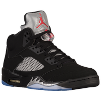 Jordan Retro 5 - Men's - Black / Red