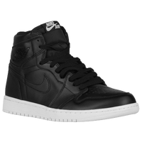Jordan Retro 1 High OG - Men's - Black / Grey