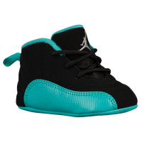 Jordan Retro 12 - Girls' Infant - Black / Silver