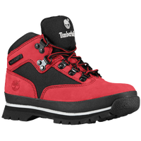 timberlands black and red