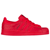 all red superstar adidas