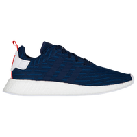 adidas Originals NMD R2 Primeknit - Men's - Navy / White
