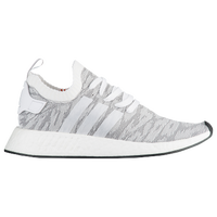 adidas Originals NMD R2 Primeknit - Men's - White / Grey