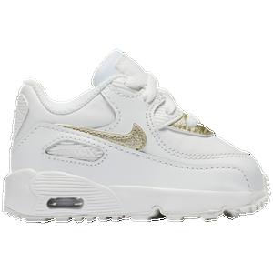 ... Nike Air Max 90 - Girls Toddler - Running - Shoes - Summit WhiteMet  Gold Star ... f50ed091f