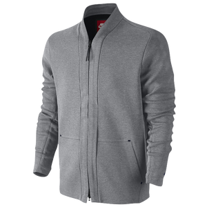 Nike Tech Fleece Cardigan - Men's - Casual - Clothing - Carbon ...
