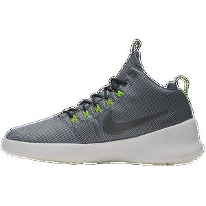 Nike Hyperfr3sh Mid - Men's - Basketball - Shoes - Wolf Grey/Black/Volt/Dark  Grey
