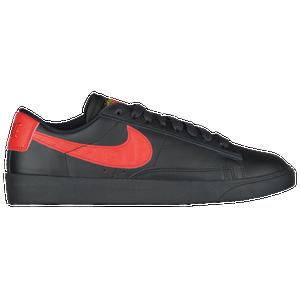 Nike Blazer Low - Women's Casual - Black/University Red J1689001