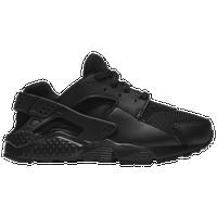 b98b4312f527 Nike Huarache Run - Boys  Preschool - All Black   Black