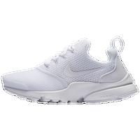 Nike Presto Fly - Boys' Grade School - All White / White