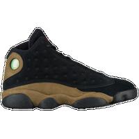 Jordan Retro 13 - Men's - Black / Olive Green
