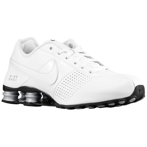 free shipping 6c741 ef796 how to clean white leather nike shox