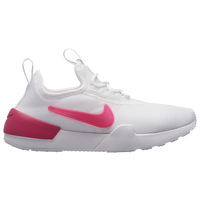 Nike Ashin - Girls' Grade School - White / Pink