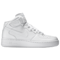 nike shoes white low tops. nike air force 1 mid - men\u0027s all white / shoes low tops