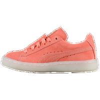 85d7696e73c3 PUMA Suede Epic Remix - Girls  Preschool - Orange   White