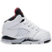 20915787cf97eb Jordan Retro 5 - Boys  Toddler - White   Red