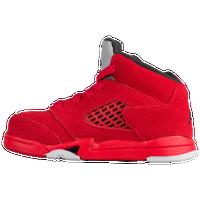 b64ec012306acb Jordan Retro 5 - Boys  Toddler - Red   Black