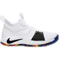 Nike PG 2 - Men's - Paul George - White / Multicolor