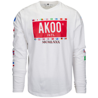 Akoo Rambler L/S T-Shirt - Men's Casual - White 718217WH